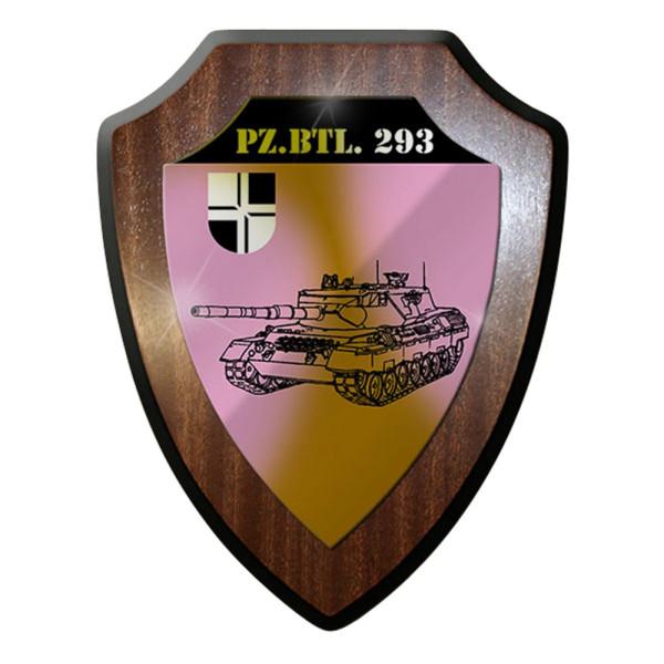 Wappenschild / Wandschild / Wappen -Pzbtl 293Kompanie Münsingen Bundeswehr #8026