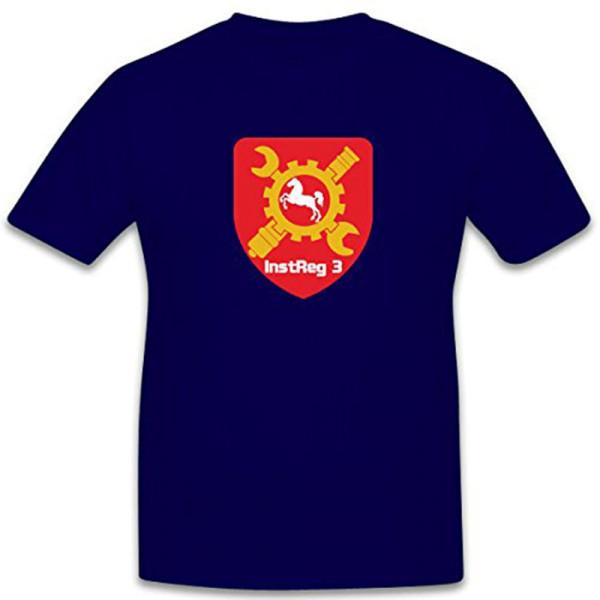 Instandsetzungsregiment 3 Koblenz Bundeswehr Bund Wappen - T Shirt #7628