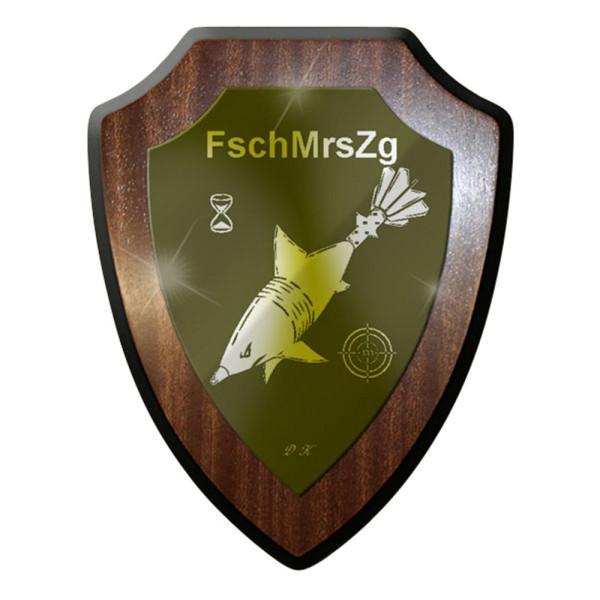 Wappenschild / Wandschild / Wappen - FschMrsZg Fallschirmjäger Mörser Zug #8333