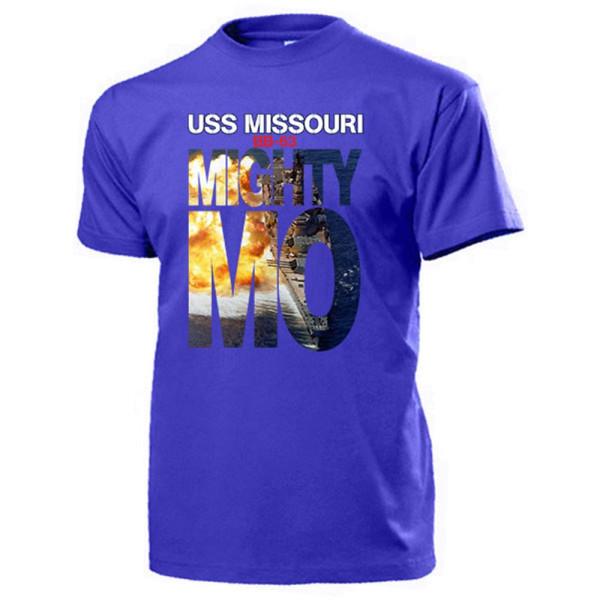 Mighty Mo USS Missouri BB 63 Us Navy Schlachtschiff Pearl Harbor T Shirt #13187