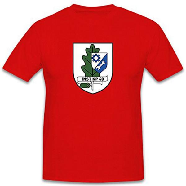 Inst Kp 40 Repair Company 40 Bundeswehr Coat of Arms Military T Shirt # 11326