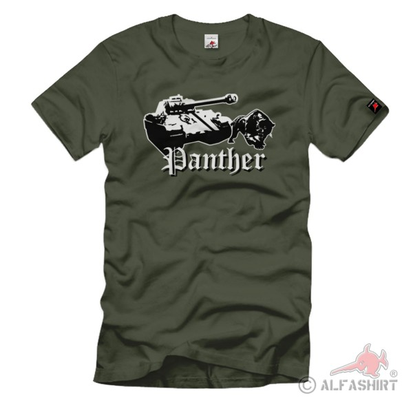 Panther Panzer Panzerkampfwagen V SdKfz 171 medium tank - T Shirt # 1000