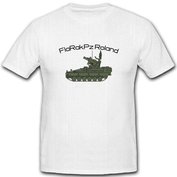 FlaRakPz Roland Waffensystem Flugabwehrraketenpanzer Flugabwehr - T Shirt #5063