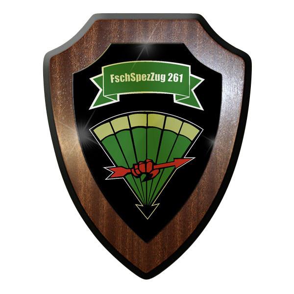 Wappenschild FschSpezZug 261 Fallschirmjäger Spezialzug #11663
