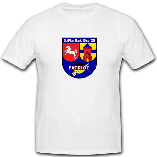 5./FlaRakGrp 25 5 Staffel Flugabwehrraketengruppe FlaRakGrp - T Shirt #4703