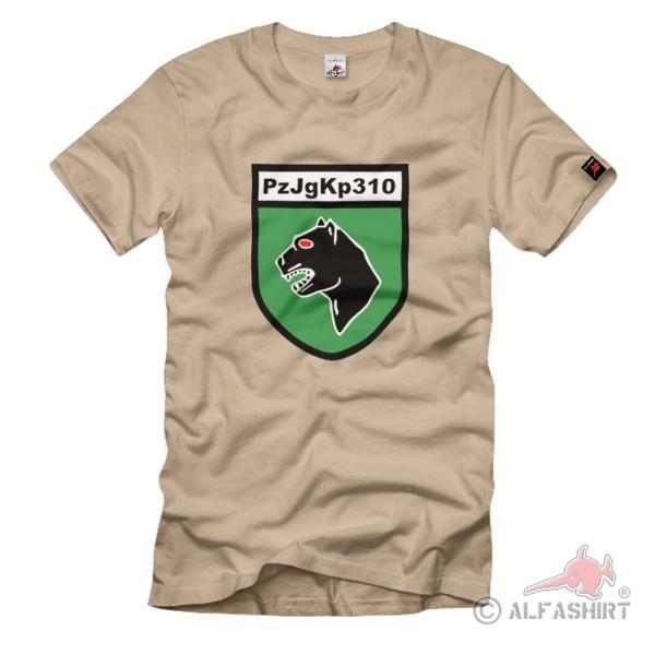 PzJgKp 310 Panzerjägerkompanie Troop Unit Coat of Arms - T Shirt # 1374