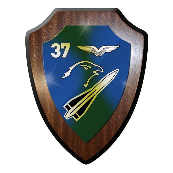 Wappenschild / Wandschild - FlaRakBtl 37 Flugabwehr Raketen Bataillon #10047
