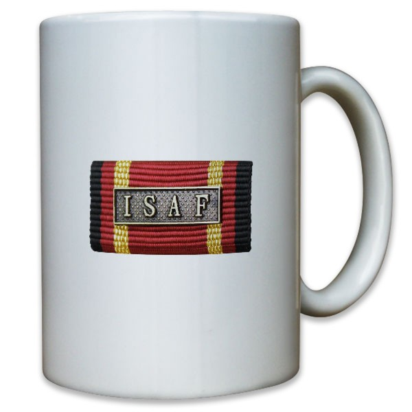 Ordensspange ISAF International Security Assistance Forces - Tasse #10979