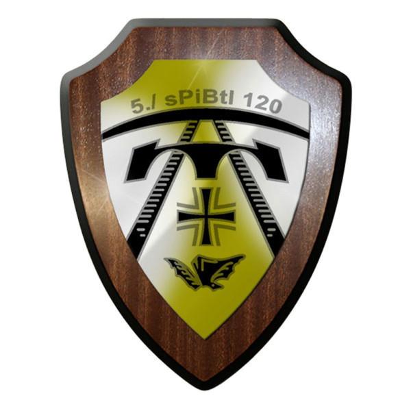 Wappenschild - 5. sPiBtl 120 schweres Pionier Bataillon Emblem #12317