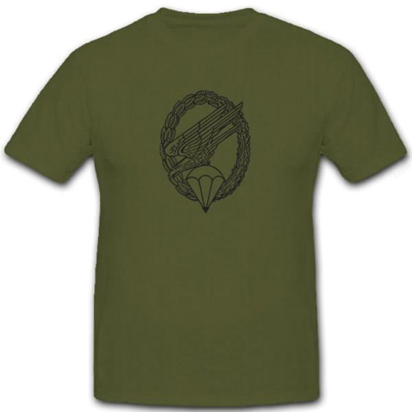 Fallschirmjäger FschJg Bundeswehr Grüne Teufel Wappen Abzeichen - T Shirt #6750
