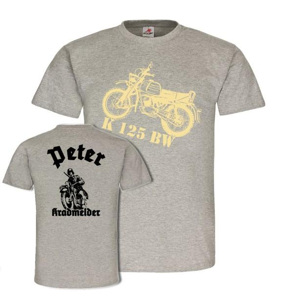 Kradmelder Peter Motorrad Streitkräften Erkunder Wh Bundeswehr #22221