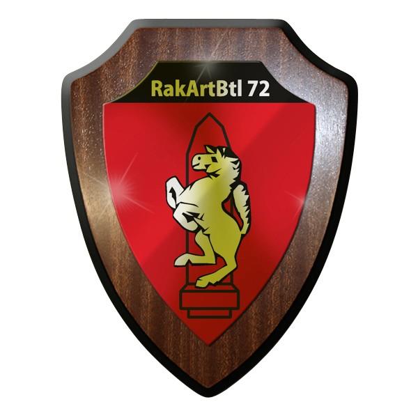 Wappenschild - RakArtBtl 72 RaketenArtillerieBataillon 72 Mars Bundeswehr #9299