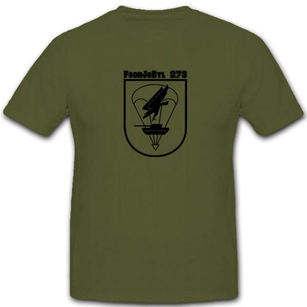 FschJgBtl 273-Fallschirmjäger Bataillon 273 Bundeswehr Militär - T Shirt #7566