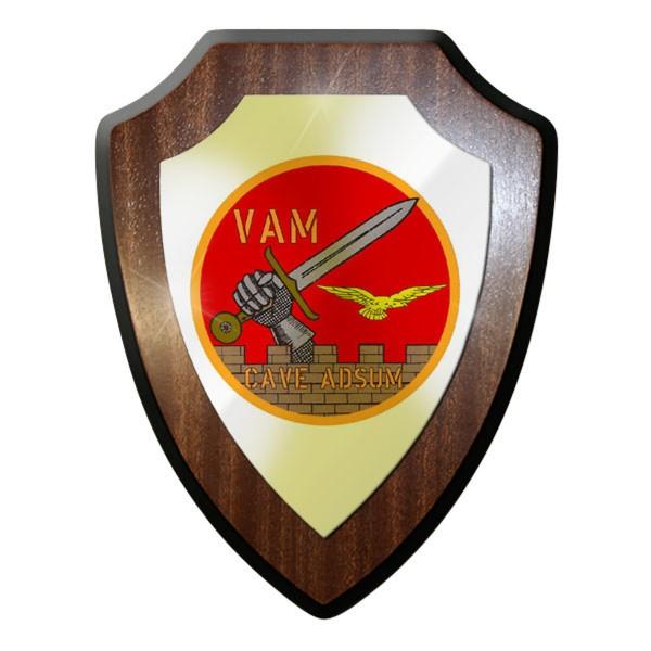 Wappenschild - Vam Cave Adsum Italien Streitkräfte Armee Geschenk #11920