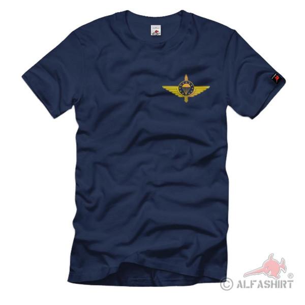 EMFV Gold Abzeichen Europäischer Militär Fallschirmsprungverband T Shirt#37815
