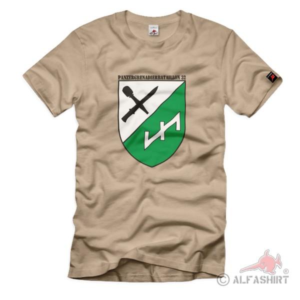 Panzergrenadierbataillon 32 Tracked Vehicle Battalion Troop - T Shirt # 1358