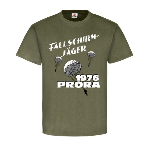 Fallschirmjäger 1976 PRORA Fallschirmspringer DDR NVA Nationale - T Shirt #11025