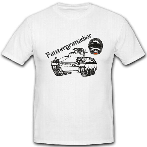 Panzergrenadier PzGren Marder Panzer Sonderkraftfahrzeug - T Shirt #3576