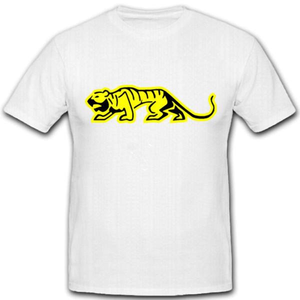 sPzAbt 501 Logo Tiger Panzer Taktisches Zeichen Wappen - T Shirt #12651