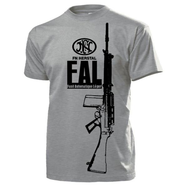 FAL Gewehr Fusil Automatique Léger Fabrique Nationale Herstal - T Shirt #14290
