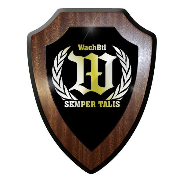 Wappenschild - WachBtl Wachbataillon Bataillon Semper Talis Bund #10036