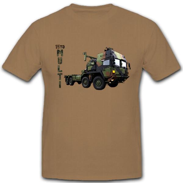 15 t Wechselladersystem Multi LKW Militärfahrzeug Transporter - T Shirt #10683