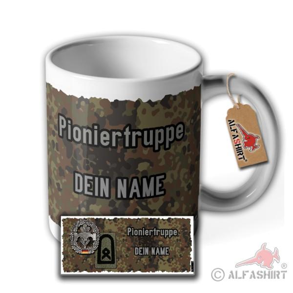 Tasse Pioniertruppe Hauptfeldwebel Personalisiert DEIN NAME #37097