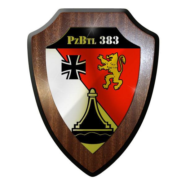 Wappenschild Wappen - PzBtl 383 Panzer Bataillon Panzerbataillon Bund #8864