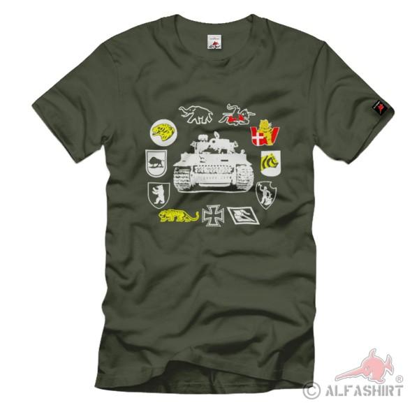 schwere Panzerabteilungen sPzAbt Kettenfahrzeug batallion truppe T Shirt#1337