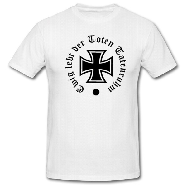 Ewig Leb tder Toten Tatenruhm #658 Ewig Lebt der Toten Tatenruhm Wk Wh Spruch Wappen Emblem Abzeiche