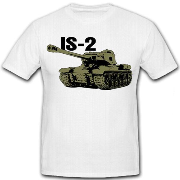 IS-2 schwere sowjetische Panzer JS2 Josef Stalin Russland Wk - T Shirt #12793