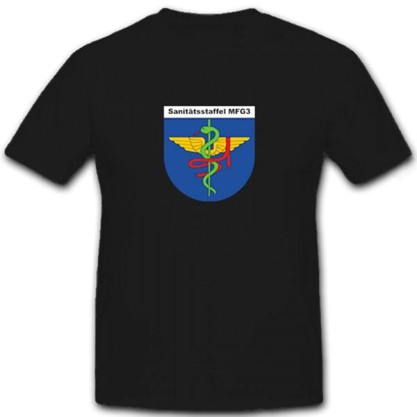 MFG 3 Sanitätsstaffel Marinefliegergeschwader 3 Bundeswehr - T Shirt #6788