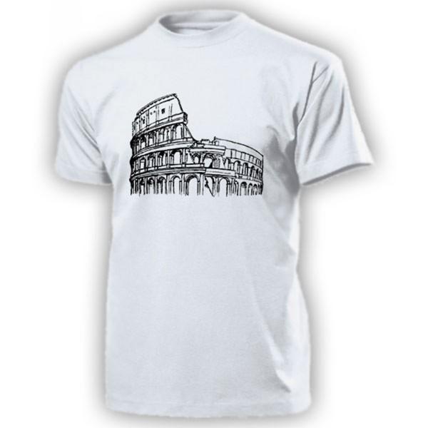 Kolosseum Intalien Rom Amphitheater römischen Antike römisches - T Shirt #14249
