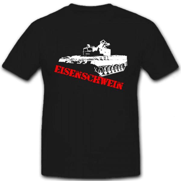 Eisenschwein Leopard 2 Panzer Panzerkampfwagen - T Shirt #7162