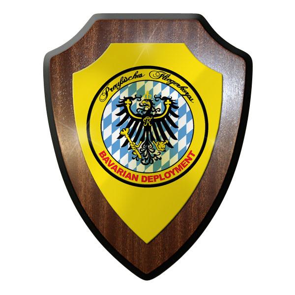 Wappenschild / Wandschild - Preußisches Fliegerkorps Bavarian Preußen #11625