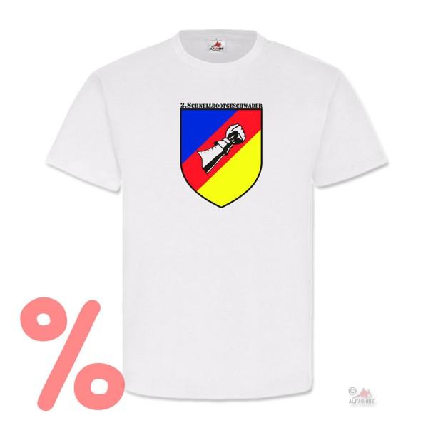 Gr. 3XL - SALE Shirt Schnellbootgeschwader Bundeswehr Wappen #R72