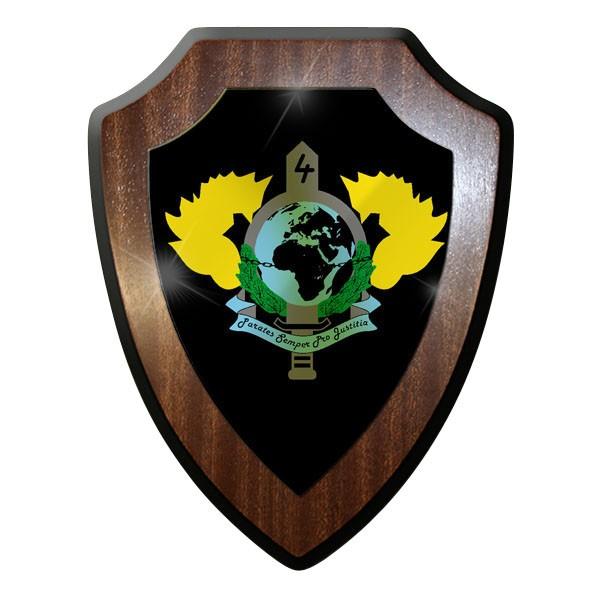 Wappenschild / - Kommando Spezialkräfte KSK 4 Kompanie Bw Bundeswehr #9036