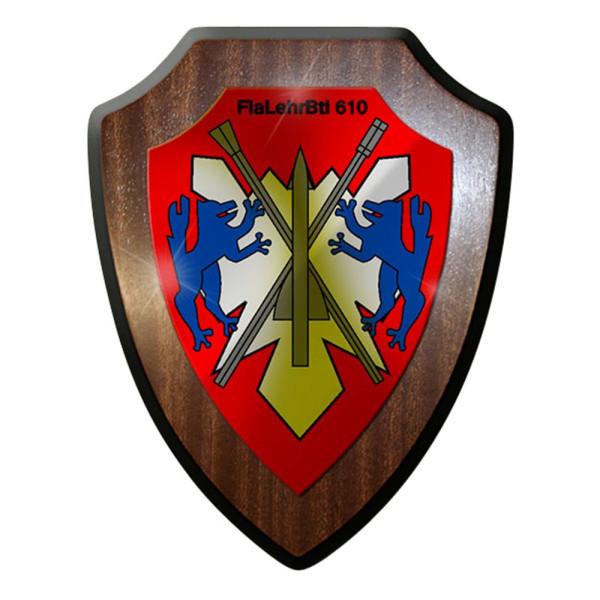Wappenschild - FlaLehrBtl 610 Flugabwehrlehrbataillon Bund Bw Wappen #12900