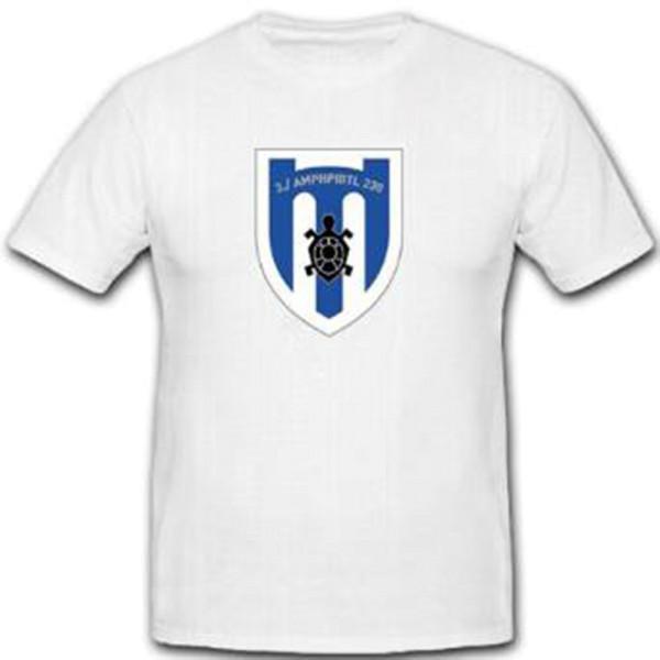 AmphPiBtl 230 Amphibisches Pionier Bataillon Deutschland Wappen - T Shirt #10148