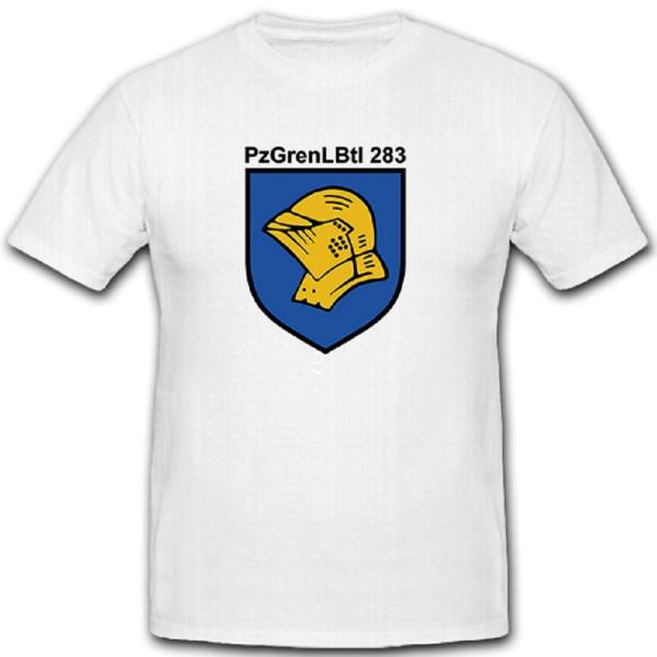 GebPzGrenBtl 283 Gebirgs Panzer Grenadier Grenadiere Bataillon - T Shirt #10109