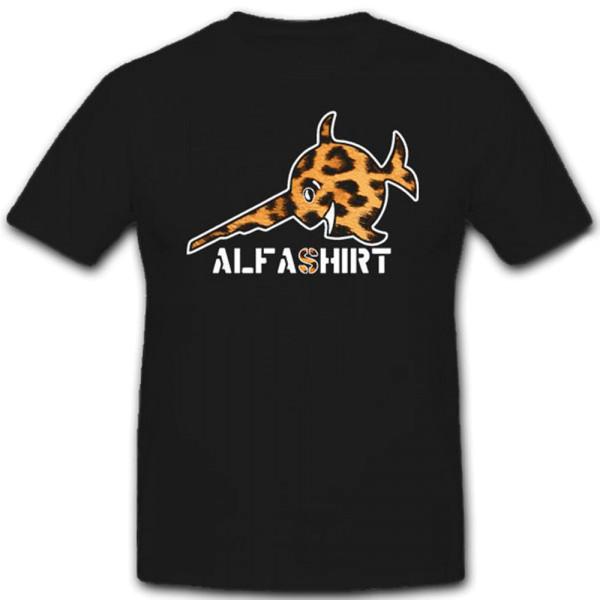 Alfashirt Sawfish Swordfish Leo Animal Print Ladies - T Shirt # 12221