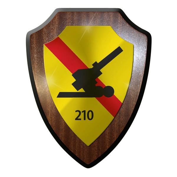 Wappenschild - Feld Artillerie Bataillon 210 Haubitze Kanone Heer Soldaten #9311