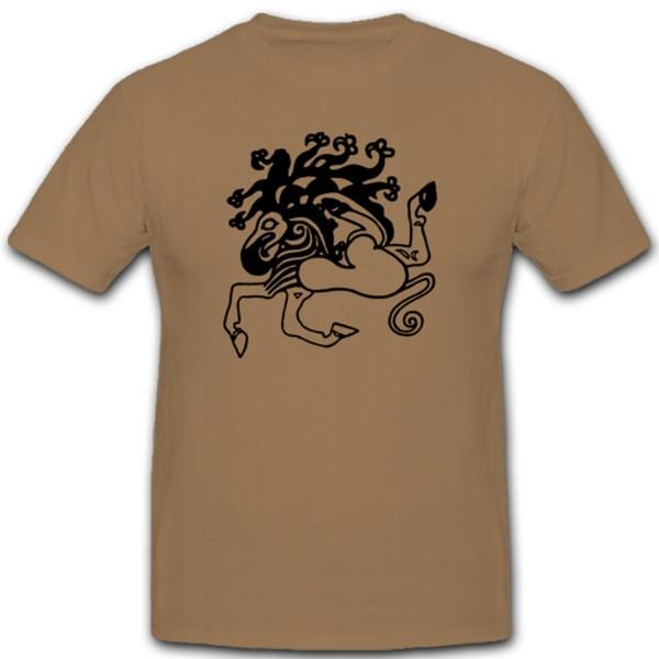 Viking tattoo Scythian animal style rider nomadic peoples animals Saken # 1228