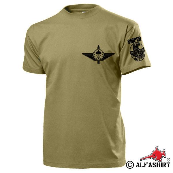EMFV Sniper Europäischer Militär Fallschirmsprungverband - T Shirt #17446