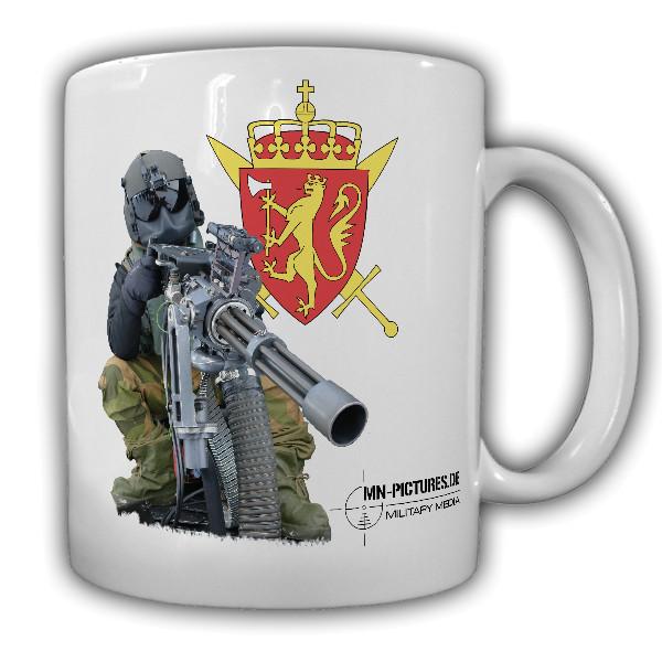 Door Gunner Cup Type 2 Helicopter Crest Emblem Machine Gun # 26445