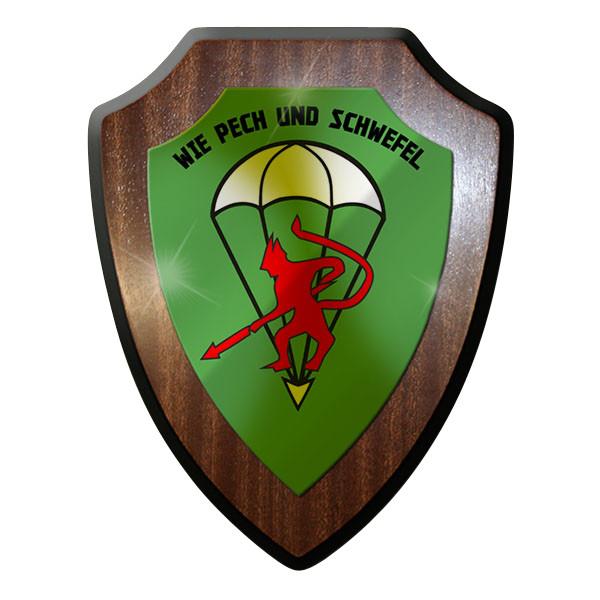 Wappenschild - FschJgBtl 261 Fallschirmjäger Bataillon Soldaten Bw Wappen #9213