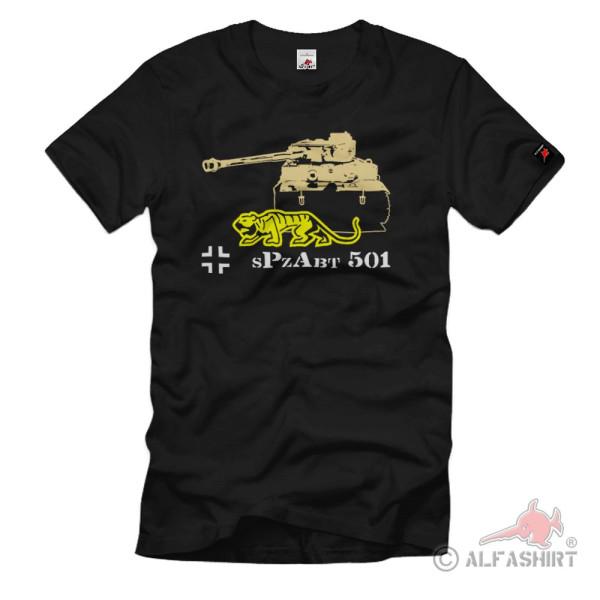 sPzAbtl 501 schwere Panzer Abteilung Einheit Btl Panzerdivision T Shirt #1248