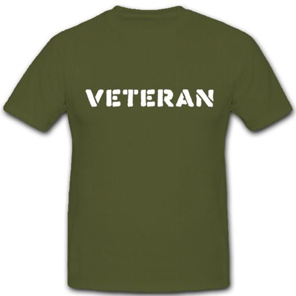 Veteran Us Army Bundeswehr Kriegsheld Überlebender - T Shirt #2235