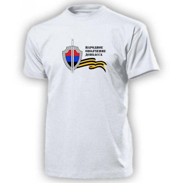 Volksarmee Donezk Wappen Abzeichen Volksrepublik - T Shirt #13236