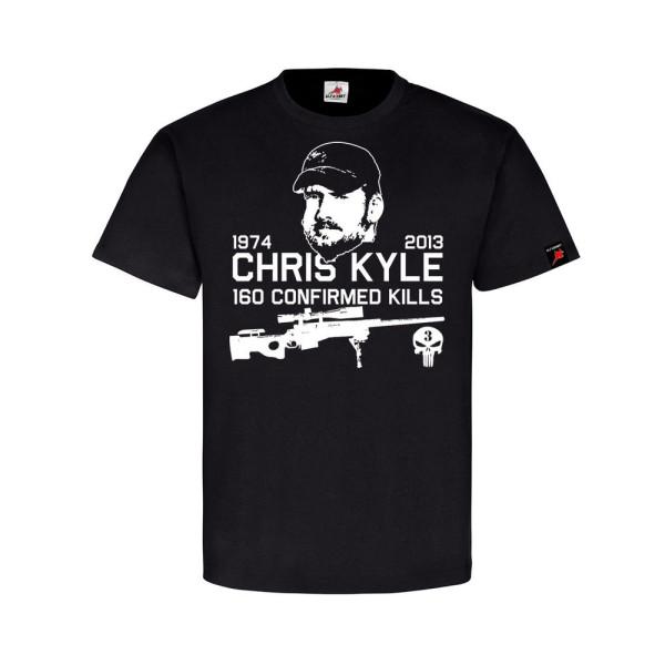 Christopher Scott Kyle American Sniper Scharfschütze Navy Seal T-Shirt#32032
